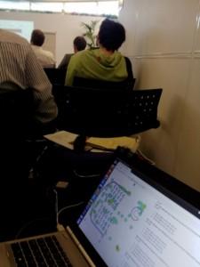 MK:Smart meeting sensor display