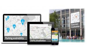 MK:Smart's Motion Map for Milton Keynes.