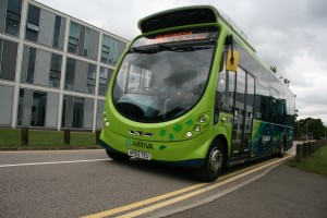 MK:Smart Chinese visitors Electric Bus, 19 Aug 2015